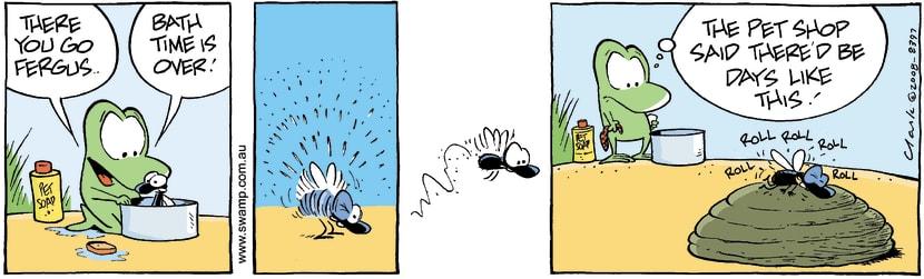 Swamp Cartoon - WashtimeAugust 5, 2008