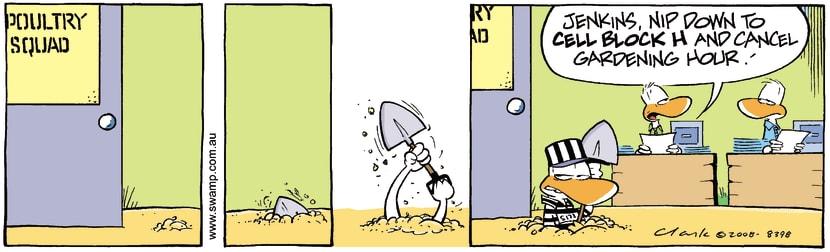 Swamp Cartoon - Gardening Escape PlanAugust 6, 2008