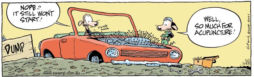 Swamp Cartoon - Natural MethodsAugust 15, 2008