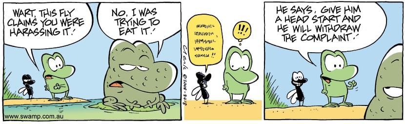 Swamp Cartoon - Legal ProposalAugust 29, 2008