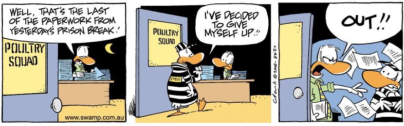 Swamp Cartoon - Long SentenceSeptember 1, 2008