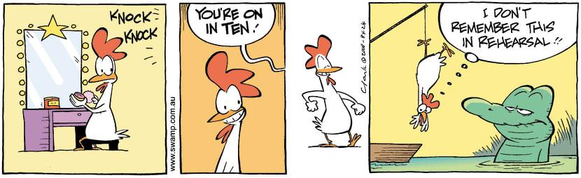 Swamp Cartoon - Getting it rightSeptember 5, 2008