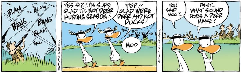 Swamp Cartoon - Escape Plan 2September 26, 2008