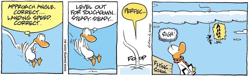 Swamp Cartoon - Poor VisionOctober 1, 2008