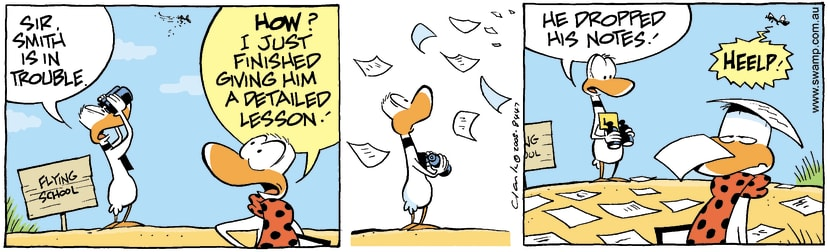Swamp Cartoon - Student ProblemsOctober 2, 2008