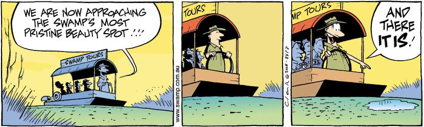 Swamp Cartoon - Trip HighlightOctober 9, 2008