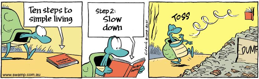 Swamp Cartoon - Simple Truths 2October 24, 2008