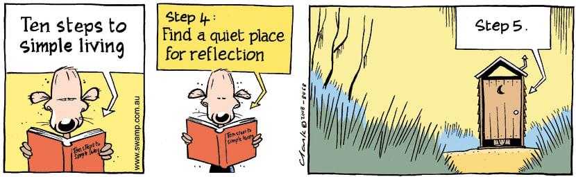 Swamp Cartoon - Simple Life 4October 27, 2008