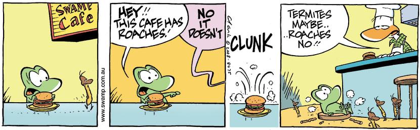 Swamp Cartoon - Dietary ConcernsNovember 4, 2008