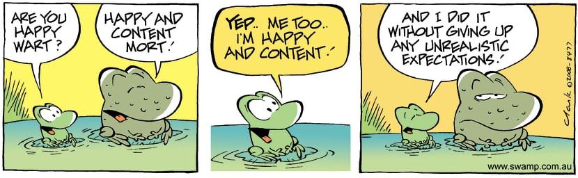 Swamp Cartoon - The Secret!November 6, 2008