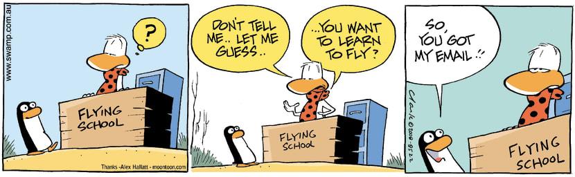 Swamp Cartoon - Flight Instructor ChallengeDecember 29, 2008