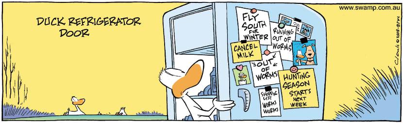 Swamp Cartoon - Fridge Fun 1January 21, 2009