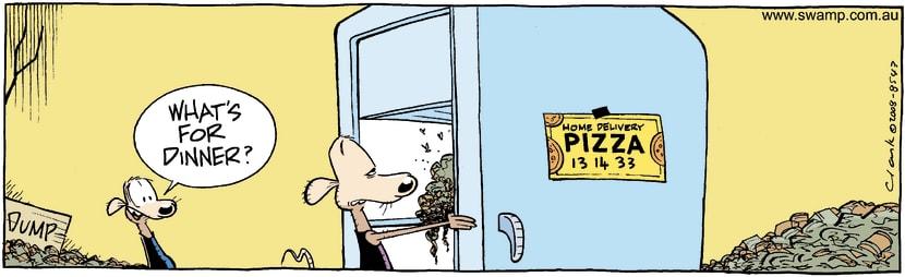 Swamp Cartoon - Fridge Fun 2January 22, 2009