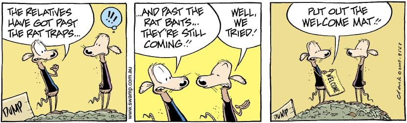 Swamp Cartoon - Relative Problems 3February 14, 2009