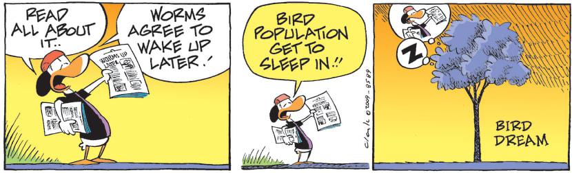 Swamp Cartoon - Bird FantasyMarch 17, 2009
