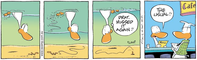 Swamp Cartoon - Off the MenuMay 12, 2009