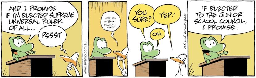 Swamp Cartoon - Political Bent 2June 10, 2009