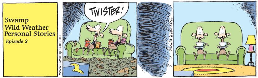 Swamp Cartoon - Swamp Wild Weather Personal Stories 2October 28, 2009