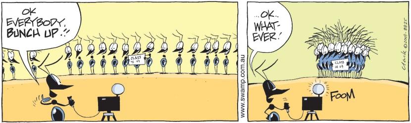 Swamp Cartoon - Swamp Ants Photo ComicOctober 21, 2014