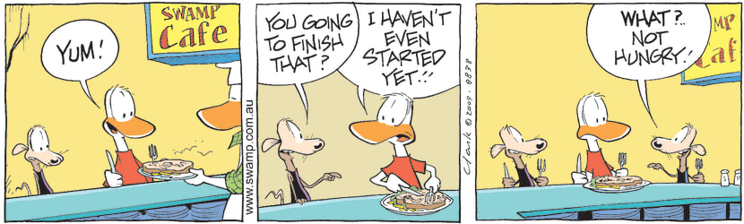 Swamp Cartoon - Cheese and Chives HungryJanuary 1, 2010
