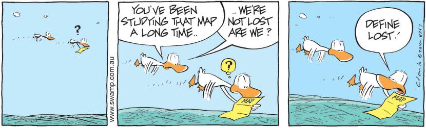 Swamp Cartoon - Natural Instincts Fail 1June 1, 2010