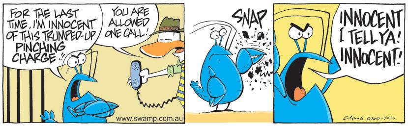 Swamp Cartoon - Hard EvidenceSeptember 22, 2010