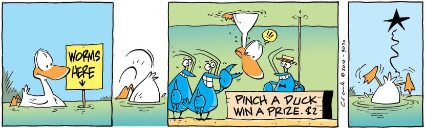 Swamp Cartoon - Dirty TricksSeptember 29, 2010