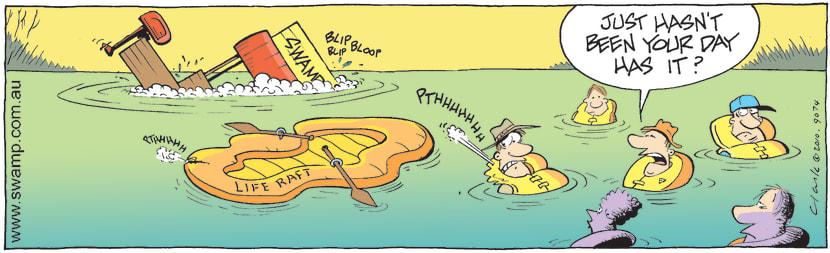 Swamp Cartoon - Murphies LawOctober 4, 2010