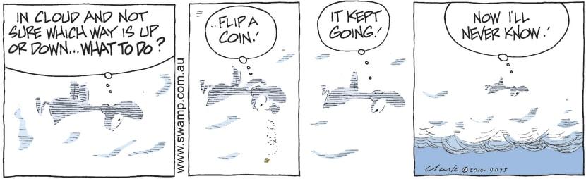 Swamp Cartoon - Go FigureOctober 5, 2010