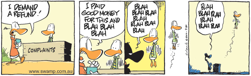 Swamp Cartoon - Freedom SeekerFebruary 4, 2011