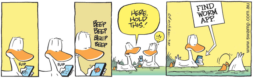 Swamp Cartoon - Technology FunFebruary 8, 2011