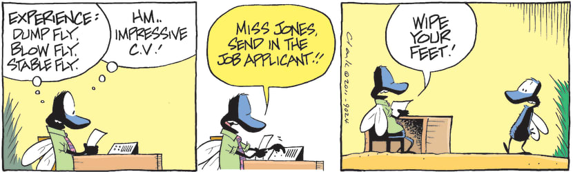 Swamp Cartoon - Employment Blues 1March 4, 2011
