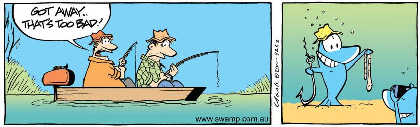Swamp Cartoon - Fisherman's TaleMay 12, 2011