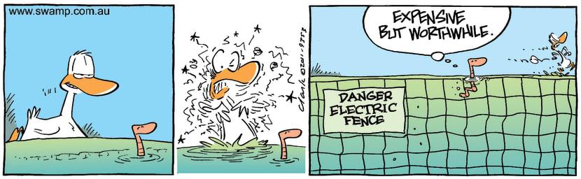 Swamp Cartoon - Hidden AgendaAugust 24, 2011