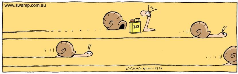 Swamp Cartoon - Pits StopSeptember 7, 2011