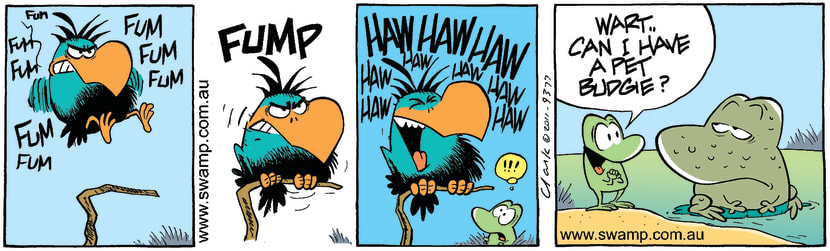 Swamp Cartoon - Too hard to resist……September 22, 2011