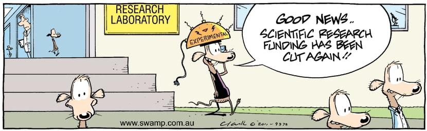 Swamp Cartoon - Chives Rat Day OffSeptember 23, 2011