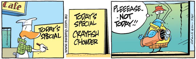 Swamp Cartoon - Poor Sportsmanship 1October 1, 2011