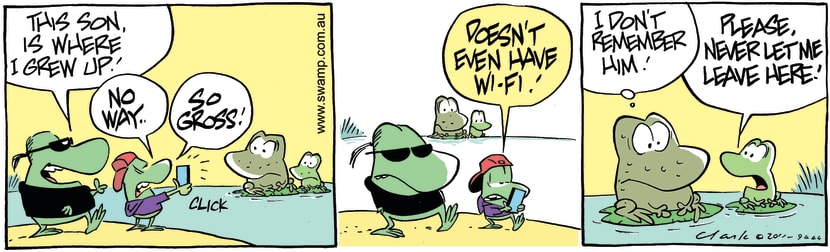 Swamp Cartoon - Imposing VisitDecember 9, 2011
