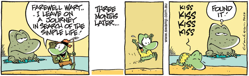 Swamp Cartoon - Great DiscoveryJanuary 2, 2012