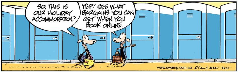 Swamp Cartoon - Holiday Fun 1January 3, 2012