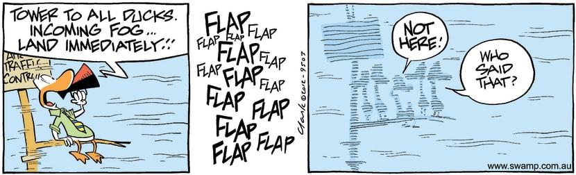 Swamp Cartoon - Foggy Fun 1February 16, 2012