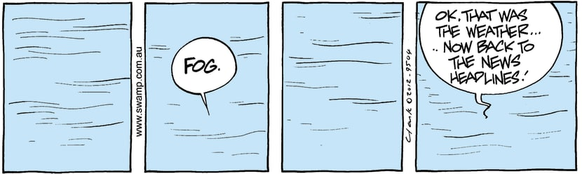 Swamp Cartoon - Foggy Fun 2February 17, 2012