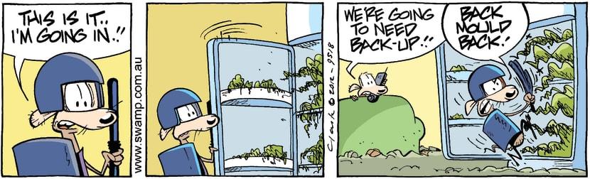 Swamp Cartoon - Pest Control 3March 5, 2012