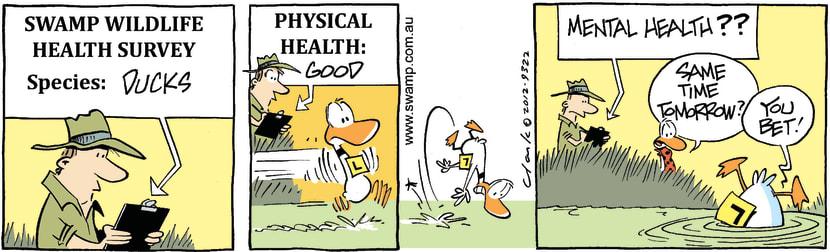 Swamp Cartoon - Ding Duck Crash RepeatMarch 13, 2021