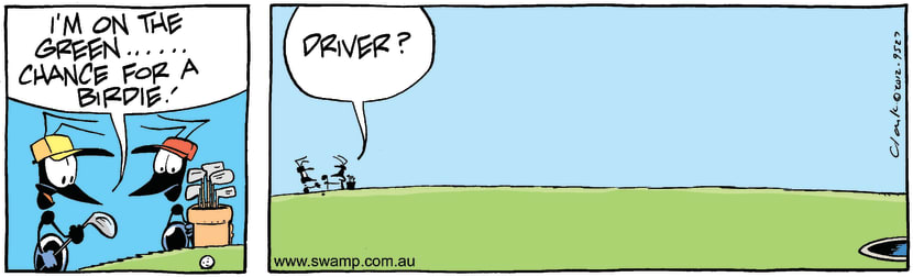 Swamp Cartoon - Fair PlayMarch 15, 2012
