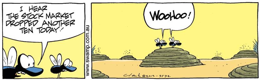 Swamp Cartoon - The Tough LifeMarch 21, 2012