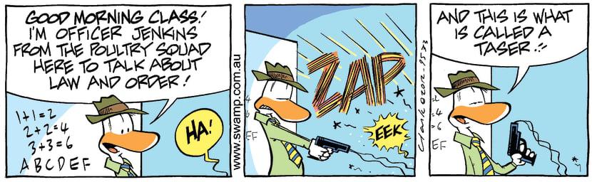 Swamp Cartoon - Discipline Fun 1March 22, 2012