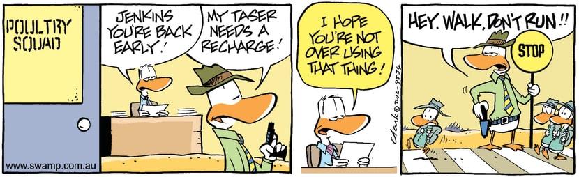 Swamp Cartoon - Discipline Fun 2March 23, 2012