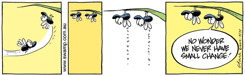 Swamp Cartoon - Flies Gravity FunMarch 24, 2012